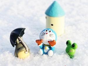 玩偶的冰雪世界萌翻了整个冬季