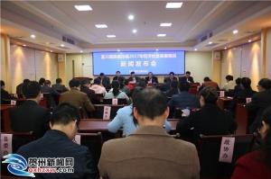 富川县召开2017年经济社会发展情况新闻发布会
