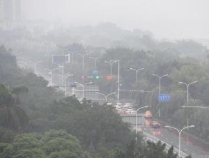 广西发布大雾蓝色预警