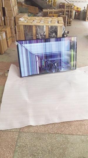 电视机还未寄出就出现破损 物流公司称只赔100元