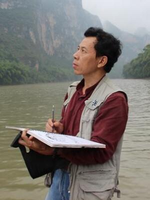 岩画守护神朱秋平 26年与岩画为伴 绘就精彩人生
