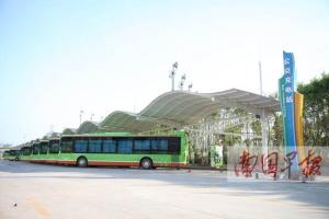 好消息:南宁公交充电站年内将向社会车辆开放(图)