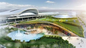 手机pt电子技巧国际空港综合交通枢纽项目启动 2021年将建成