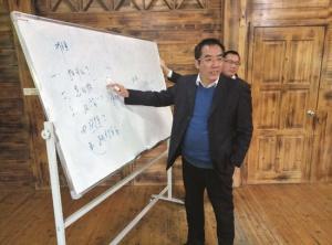 蓝招衍用29年时间创新生态农庄模式