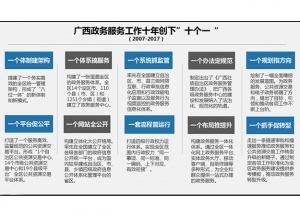 广西:政务服务十年 便民为民飞跃