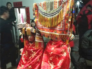 高清:古朴传统的过山瑶婚礼