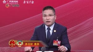 苏日好委员:加强政企资源整合 鼓励企业走出去