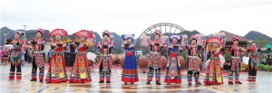 第二届鼓祖文化节在马山举行开幕式