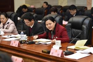 廖云代表就信用惩戒方面提出建议