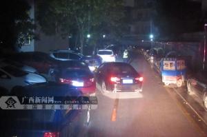 贵港:男子醉驾连撞4车还撒泼被警方行拘10日(图)