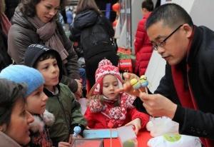 索非亚举办欢庆中国春节活动