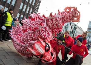 赫尔辛基举行第12届春节庙会