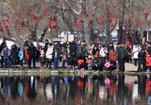 乌鲁木齐:春日雪景度佳节