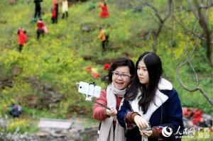 广西融安:美丽乡村游客多