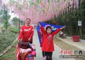 """广西横县景点春节旅游""""旺升"""" 接待游客36.9万人次"""