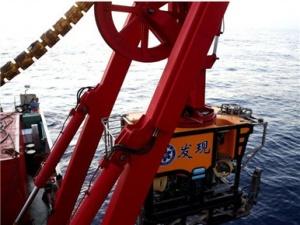 """测试""""发现""""号ROV深海机器人"""