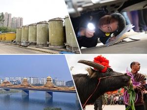 """3月20日焦点图:南宁""""铁鸟""""将停产?市民排队打酱油"""