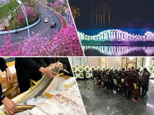 """25日焦点图:市民参观殡仪馆 """"零距离""""感受""""生死"""""""
