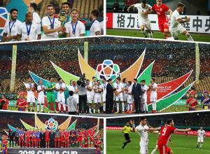 """高清:2018""""中国杯""""落幕:乌拉圭1-0胜威尔士夺冠"""