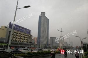 29日桂林等4市有中到大雨 30日雨水暂停气温缓升