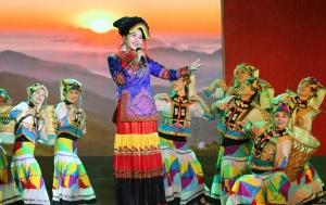 隆林各族自治县成立65周年晚会上演 近万人观看