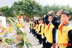 钦州:继承先烈遗志 弘扬爱国精神