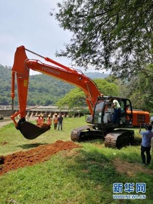中企承建斯里兰卡米尼佩水坝加高项目开工
