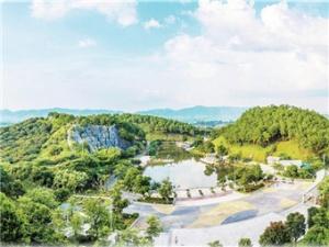 龚州公园:彰显生态园林城市的南国风情