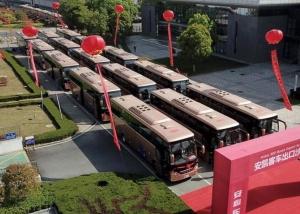 中国客车出口沙特