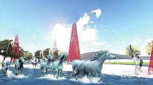 高清组图:来宾市将打造五公里滨水景观带