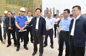 刘有明:围绕既定目标加快建设