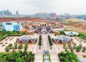 南宁东盟文化旅游项目今年暑假开园 体验东盟风情