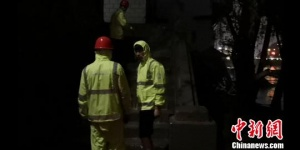 兰州市遭强降雨袭击致局地受灾 抢险工作仍在进行