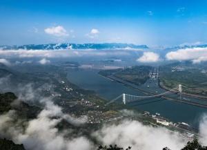 三峡水库向长江中下游补水超过120亿立方米