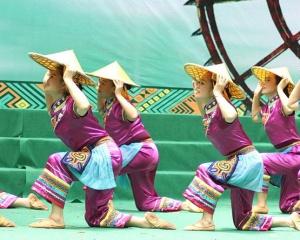 2018下桥竹海风情生态休闲文明旅游节举行