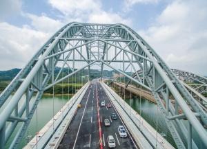 六景郁江特大桥建成通车 柳南高速六景段还会堵吗