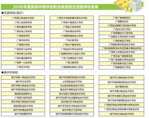 广西284所中职学校具备招生资格 其中南宁有29所