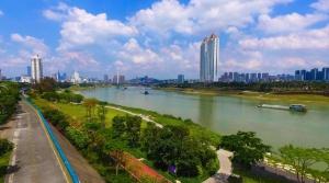 焦点图:邕江整治 将沿江打造15座滨江公园