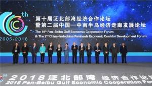 第十届泛北部湾经济合作论坛在南宁举行(组图)