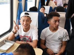 青海玉树在粤高三学生返乡参加高考