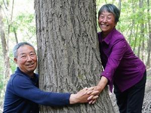 植树造林 青山为证