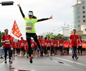 """""""奔跑吧广西""""生态马拉松系列赛首站登陆汉郡合浦"""