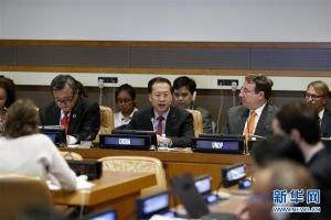 """联合国举办""""应对不平衡不充分发展,实现可持续发展目标""""高级别会议"""