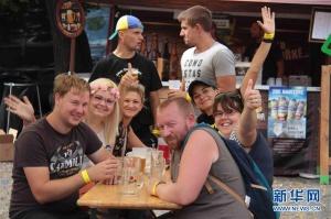 捷克举办小作坊啤酒节