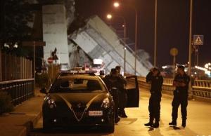 意大利发生公路桥垮塌事故