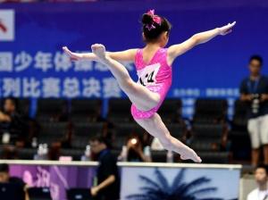 奥运冠军助阵 2018全国少年体操总决赛在桂林举行