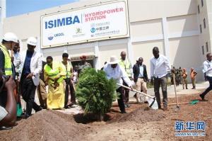 中企承建的乌干达水电站竣工