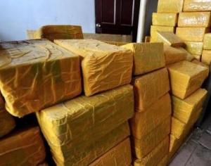 长春警方破获贩卖毒品大麻案 缴毒1691.18公斤