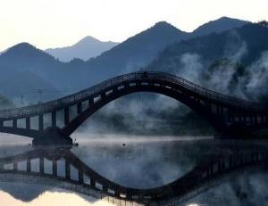 安徽:龙川之晨
