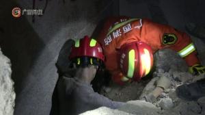岑溪矿山塌方事故被困人员已救出四人